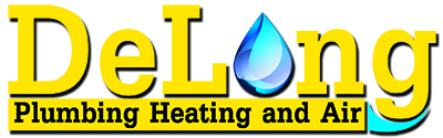 Delong Plumbing Heating & Air logo